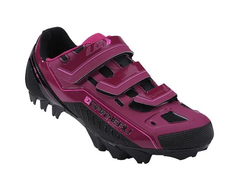 Louis Garneau Women's Sapphire  Mountain Bike Shoes (Magenta Purple)