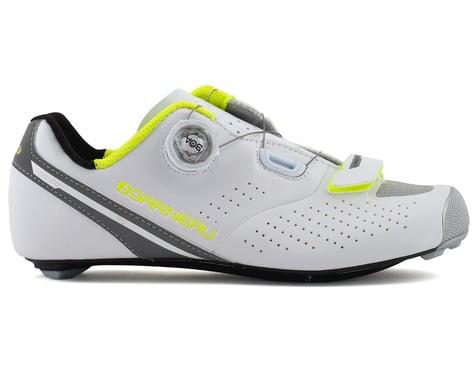 Louis Garneau Women's Carbon LS-100 II Shoes (White/Yellow) (39)