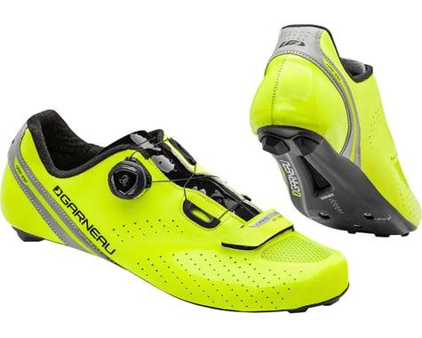 Louis Garneau Carbon Ls-100 II Shoes (Bright Yellow/Black) (42)