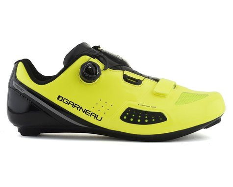 Louis Garneau Platinum II Road Shoe (Bright Yellow) (42)