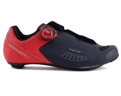 Louis Garneau Carbon Ls-100 II Shoes (Red/Navy) (49)