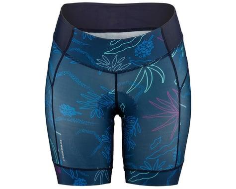 Louis Garneau Women's Neo Power Art Motion 7 Shorts (Blue Flow) (2XL)