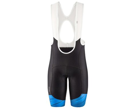 Louis Garneau Men's Neo Power Art Bib Shorts (Blue) (2XL)