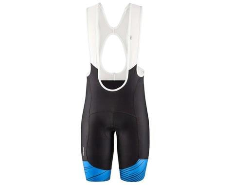 Louis Garneau Men's Neo Power Art Bib Shorts (Blue) (M)
