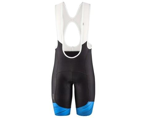 Louis Garneau Men's Neo Power Art Bib Shorts (Blue) (XL)