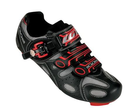 Louis Garneau Ergo Air Revo Road Shoes (Black/Red) (0390)