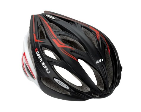 Louis Garneau Exo-Nerv Road Helmet - Performance Exclusive (Black/Red)