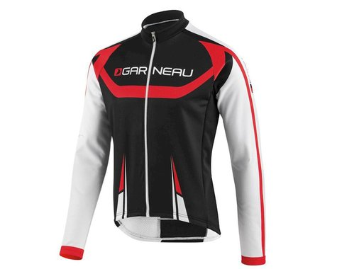 Louis Garneau Equipe Long Sleeve Jersey (Black/Red)