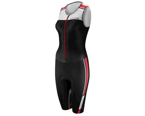 Louis Garneau Women's Tri Course Club Triathlon Suit (Black/White) (Xxlarge)