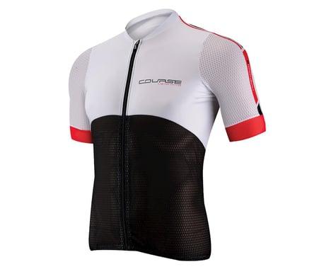 Louis Garneau Course Superleggera 2 Cycling Jersey - 2015 (Black/White)