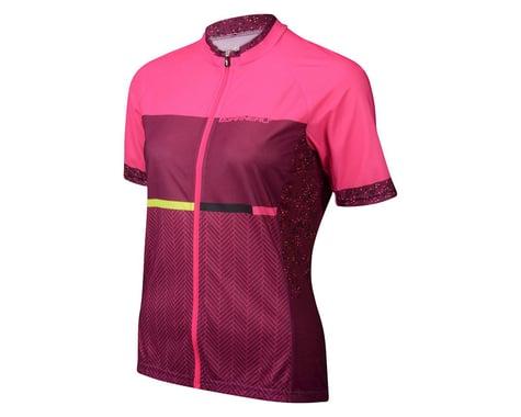 Louis Garneau Women's Equipe GT Series Short Sleeve Jersey (Pink) (Xlarge)