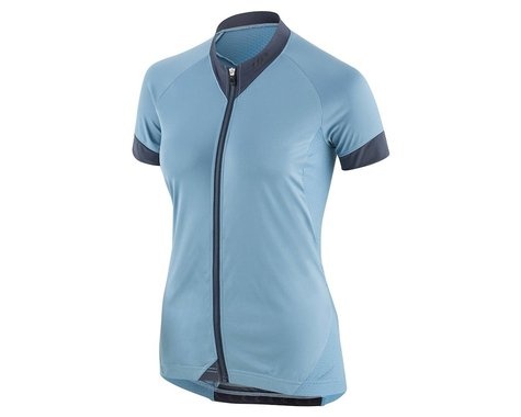 Louis Garneau Women's Art Factory Zircon Jersey (Half Moon Blue) (S)