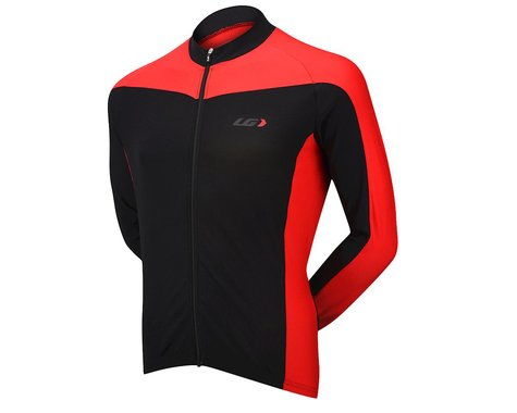 Louis Garneau Cambridge Long Sleeve Jersey (Red)