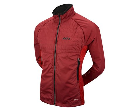 Louis Garneau Cove Hybrid Jacket (Red) (Xlarge)