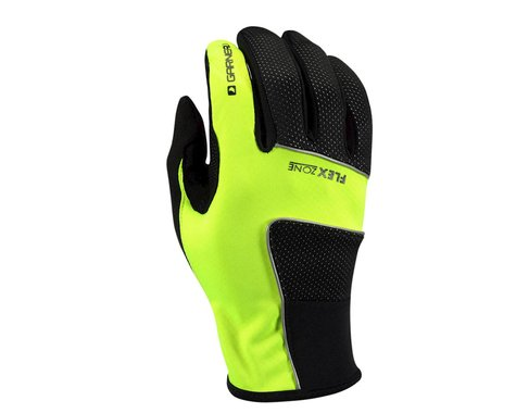 Louis Garneau Wind Tex Eco Flex Gloves -- Performance Exclusive (Red) (Xxlarge)