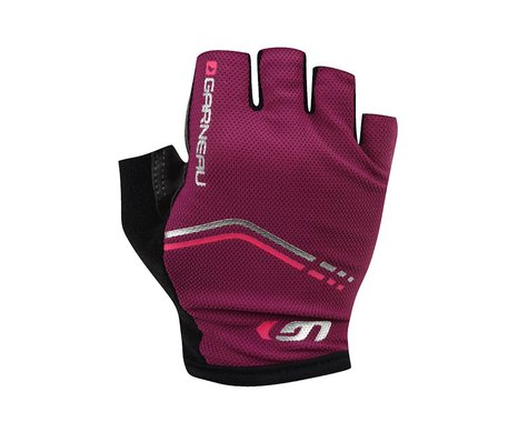 Louis Garneau Women's Cirrus Gel Gloves - Performance Exclusive (Purple) (Large)
