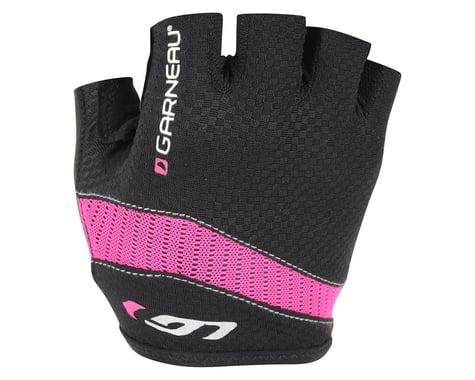 Louis Garneau Women's Stratus Gel Gloves - Performance Exclusive (Black/Pink) (Large)