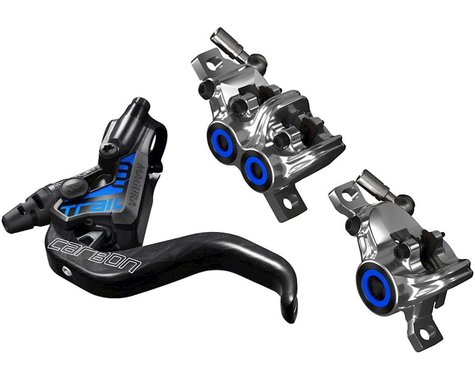Magura MT Trail SL Hydraulic Disc Brake Set (Black/Chrome) (Pair/Complete)