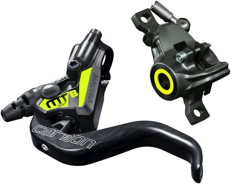 Magura MT8 SL Carbon Hydraulic Disc Brake (Carbon/Yellow) (Left or Right)