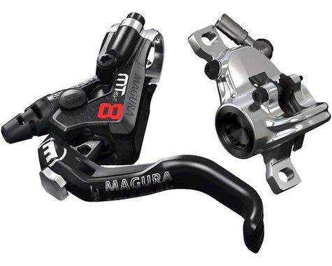Magura MT8 Pro Hydraulic Disc Brake (Black/Silver) (Left or Right)