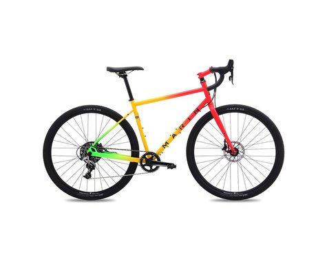 Marin Four Corners Elite Touring Bike - 2017 (Red/Yellow/Green)
