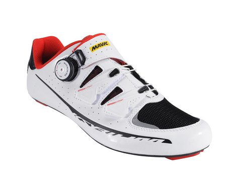 Mavic Ksyrium Pro II Road Shoes (White/Red/Black)