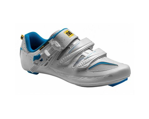 Mavic Ksyrium Elite Women's Road Shoes (White/Blue) (9.5 Uk (Us Womens 11))
