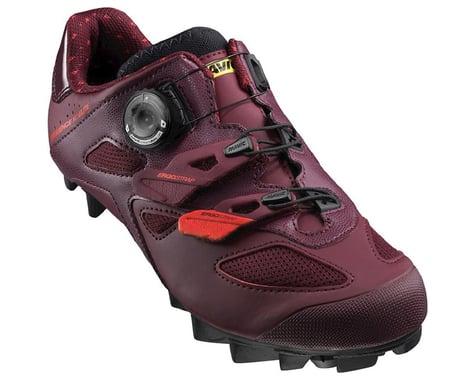 Mavic Sequence XC Elite Women's Mountain Shoes (Fig/Hibiscus/Black) (10.5 Uk (Us Womens 12))