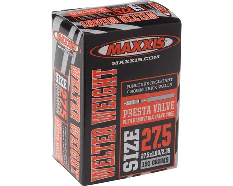 "SCRATCH & DENT: Maxxis Welterweight 27.5"" Inner Tube (Presta) (1.9 - 2.125"") (33mm)"