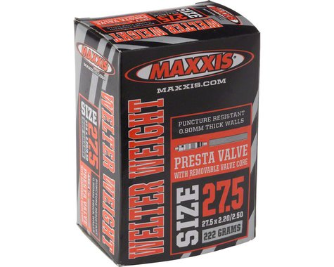 "Maxxis Welterweight 27.5"" Inner Tube (Presta) (2.2 - 2.5"") (33mm)"
