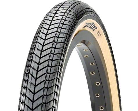Maxxis Grifter Dual Compound BMX Tire (Black/Skinwall) (20 x 2.30)