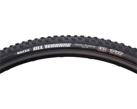 Maxxis All Terrane Tire (Triple Compund) (Folding) (Tubeless Ready) (700 x 33)