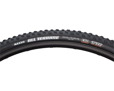 Maxxis All Terrane Tire (Triple Compound) (Folding) (Tubeless Ready) (700 x 33)