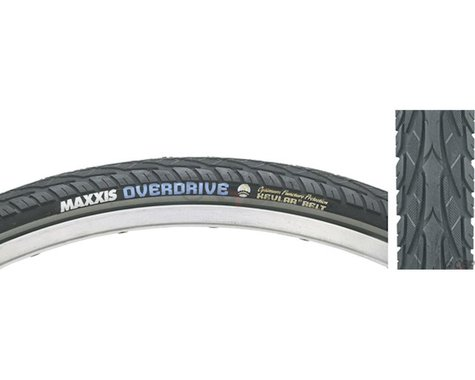 Maxxis Overdrive Single Compound Tire (Wire Bead) (Silk Worm) (27.5 x 1.65)