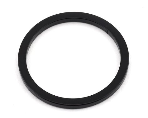 "MCS Aluminum Headset Spacer (1"") (Black)"