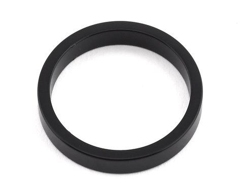 "MCS Aluminum Headset Spacer (1"") (Black) (5mm)"