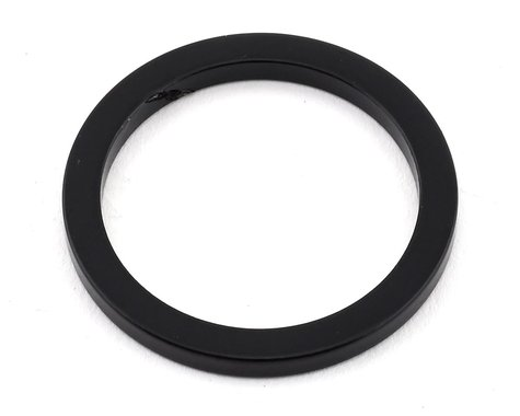 "MCS Aluminum Headset Spacer (1-1/8"") (Black) (3mm) (1-1/8"")"