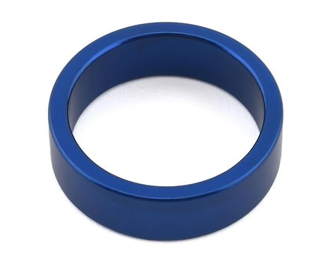 "MCS Aluminum Headset Spacer (1-1/8"") (Blue) (10mm)"