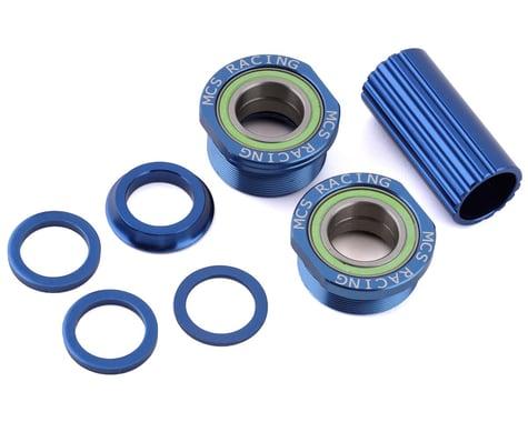 MCS Euro Bottom Bracket Kit (Blue) (19mm)