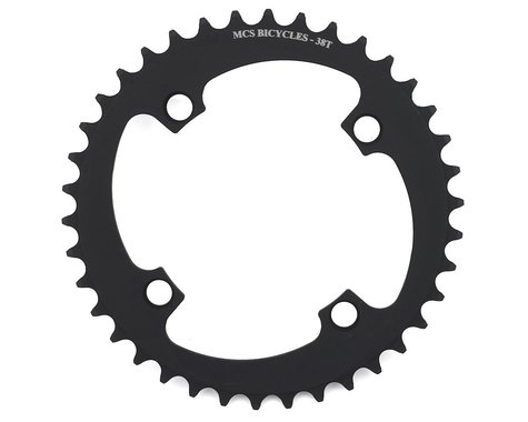 MCS 4-Bolt Chainring (Black)