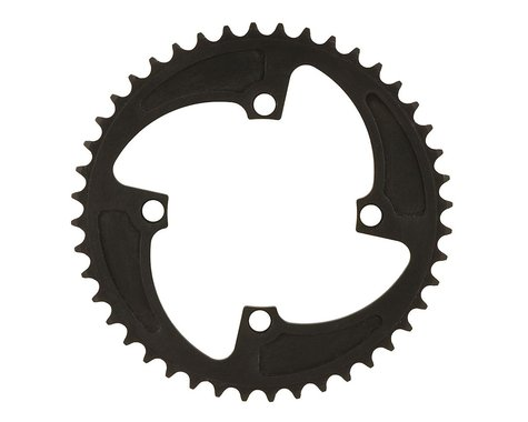 MCS 4-Bolt Chainring (Black) (44T)