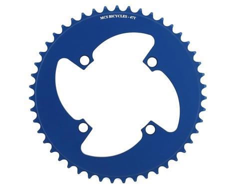 MCS 4-Bolt Chainring (Blue) (47T)