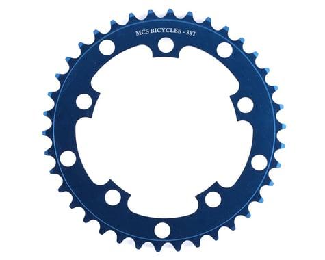 MCS 5-Bolt Chainring (Blue) (38T)