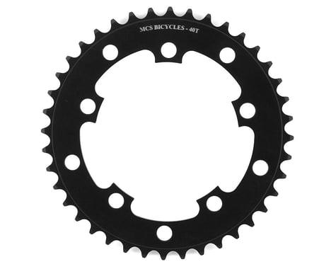 MCS 5-Bolt Chainring (Black) (40T)