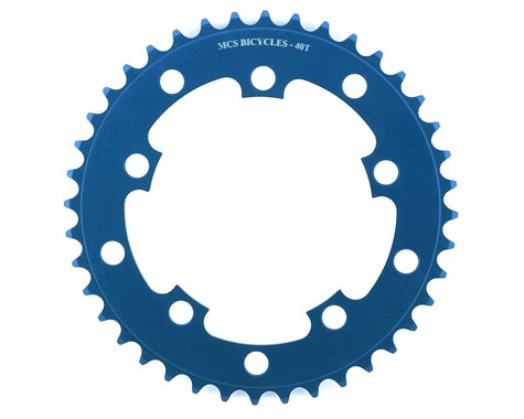MCS 5-Bolt Chainring (Blue) (40T)