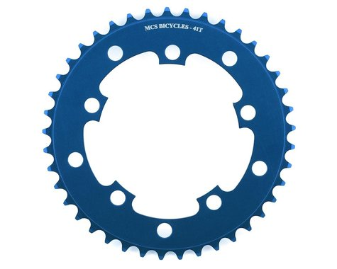 MCS 5-Bolt Chainring (Blue) (41T)