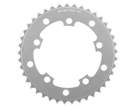 MCS 5-Bolt Chainring (Silver) (41T)