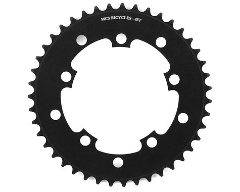 MCS 5-Bolt Chainring (Black) (43T)