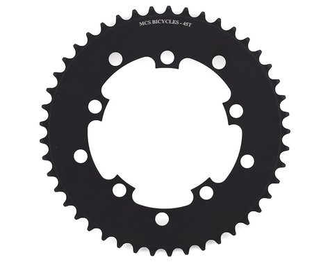 MCS 5-Bolt Chainring (Black) (45T)