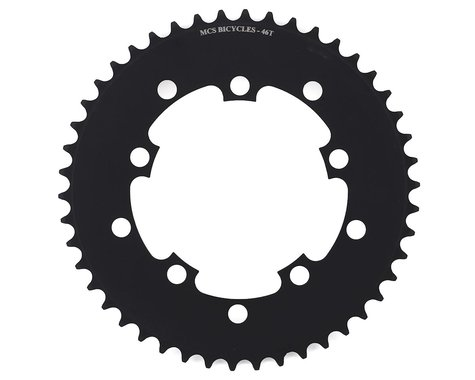 MCS 5-Bolt Chainring (Black) (46T)